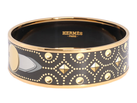 Hermès Wide Collier de Chien Bangle CDC