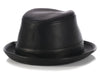 Hermès Black Leather Hat