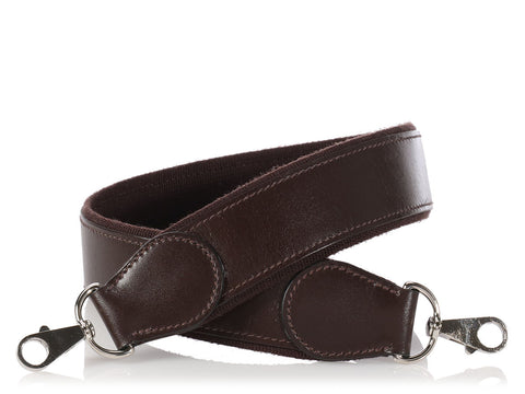 Hermès Short Chocolate Lakis Strap