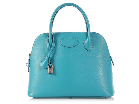 Hermès Turquoise Bolide 31
