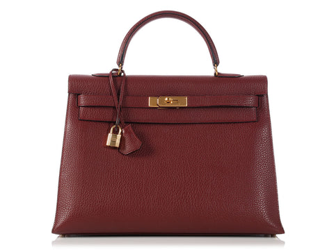 Hermès Rouge H Kelly 35