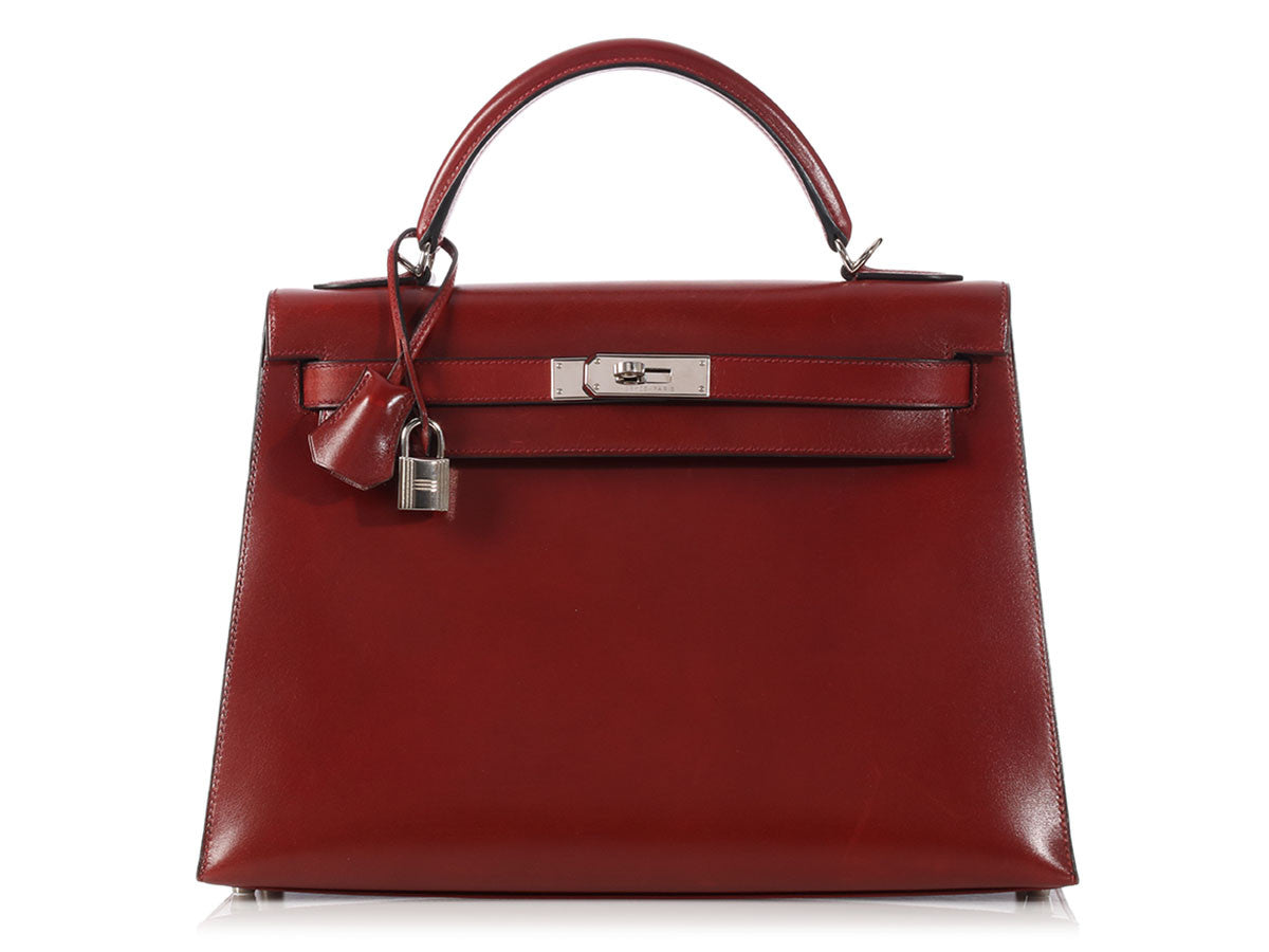 Hermès Rouge H Kelly 32