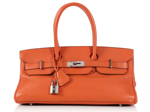 Hermès Orange JPG Birkin 42