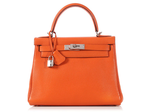 Hermès Orange Kelly 28
