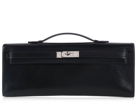 Hermès Black Kelly Cut
