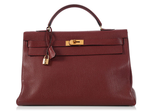 Hermès Rouge Kelly 40