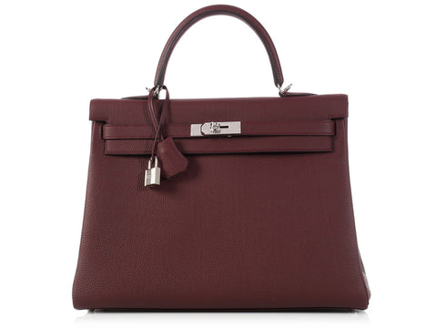 Hermès Bordeaux Kelly 35
