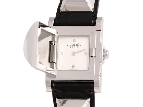 Hermès Diamond Medor Watch PM