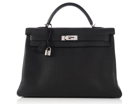 Hermès Black Kelly 40