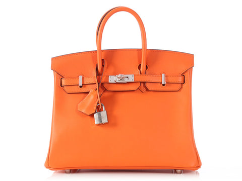 Hermès Orange Birkin 25