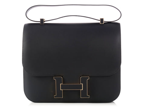 Hermès Black Constance Cartable Super Special 29