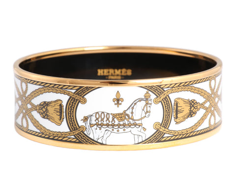 Hermès Wide Grand Apparat Bangle