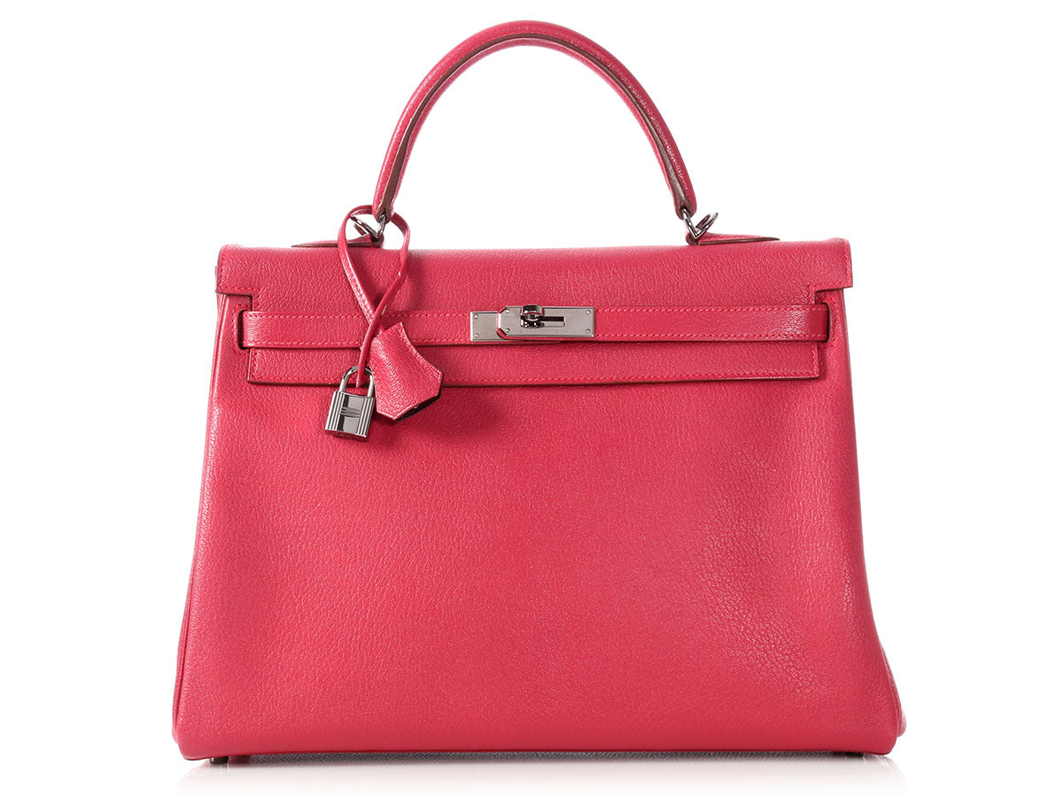 Hermès Framboise/Prune Bicolor SO Kelly 35