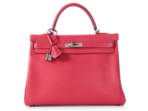 Hermès Framboise and Prune Bicolor SO Kelly 35