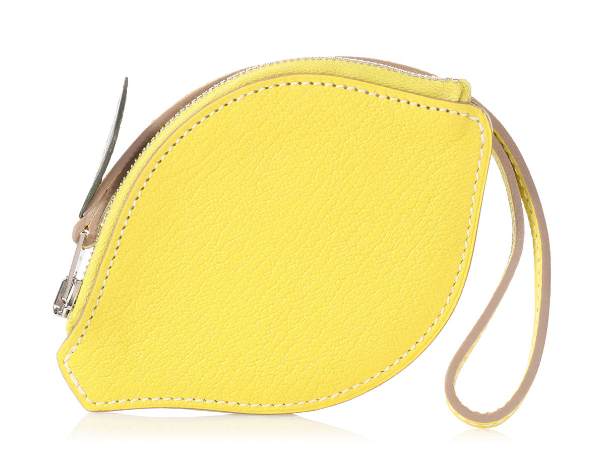 Hermès Tutti Frutti Lemon Coin Purse