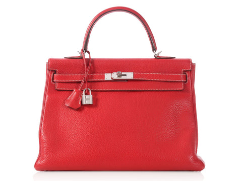 Hermès Rouge Casaque SO Kelly 35
