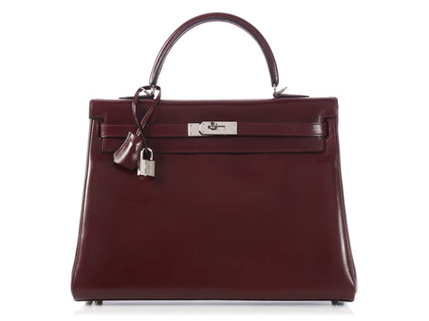 Hermès Prune SO Kelly 35