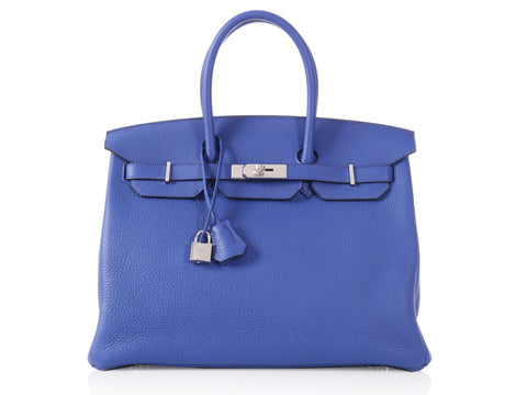 Hermès Electric Blue Birkin 35