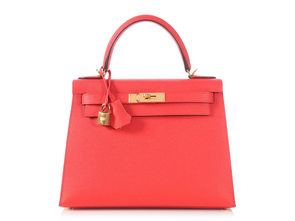 Hermès Rouge Tomate Kelly 28