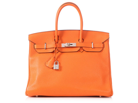 Hermès Orange Birkin 35
