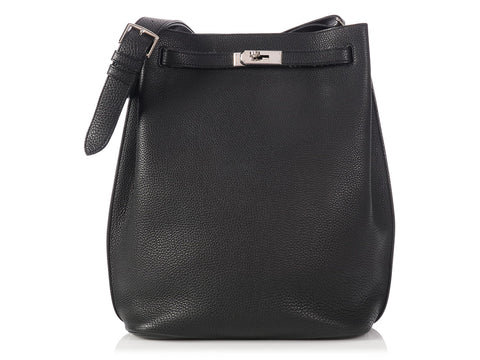 Hermès Black So Kelly 26