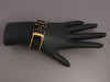 Hermès Wide Black on Black Clic-Clac Bracelet