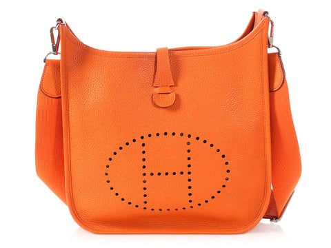 Hermès Orange Clémence Evelyne III PM