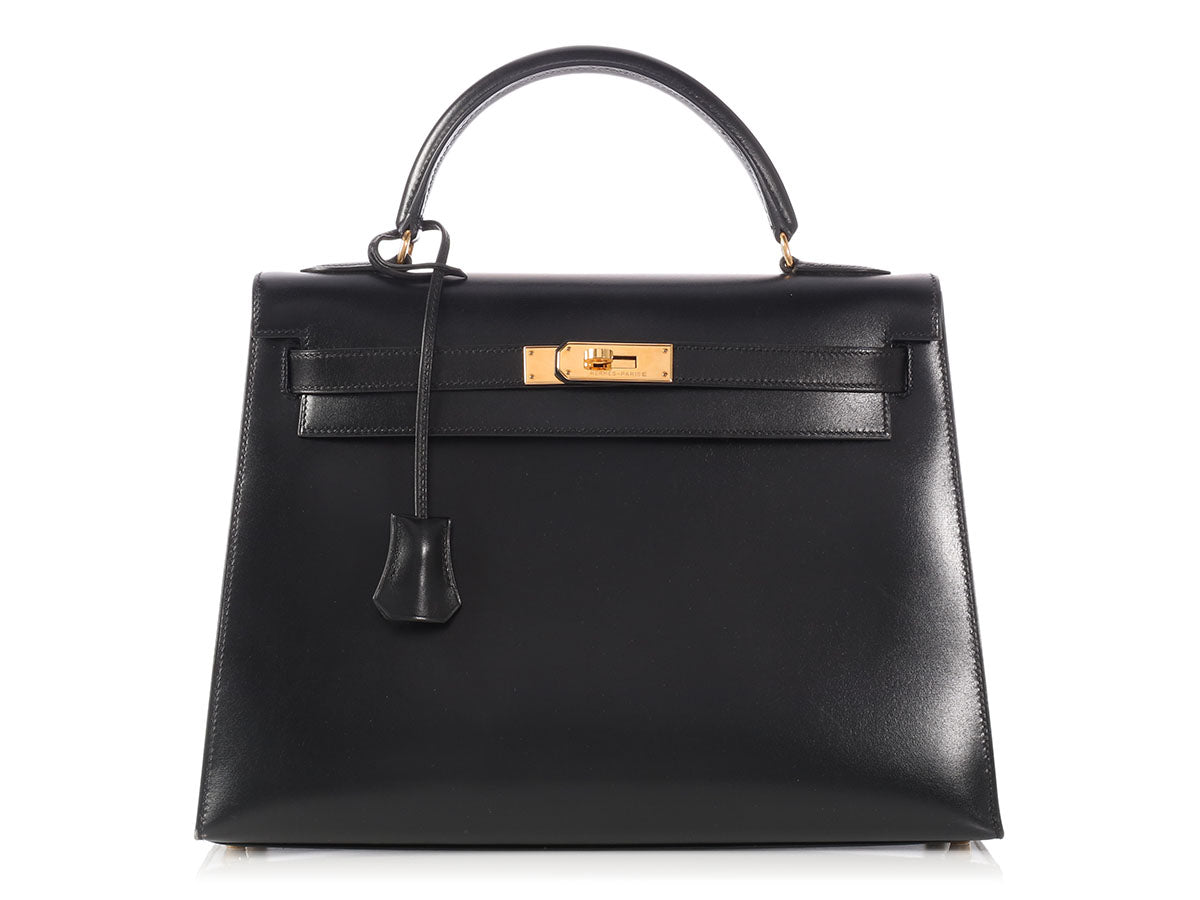 Hermès Black Box Kelly 32