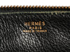 Hermès Vintage Black Leather Shoulder Bag
