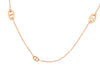 Hermès 18K Rose Gold Farandole Necklace