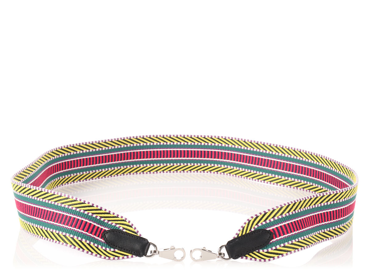 Hermès Multicolored Sangle Cavale Shoulder Strap 50cm