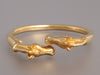 Hermès Double Horse Head Bangle Bracelet