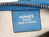 Hermès Mykonos Blue Swift Massai Cut 40