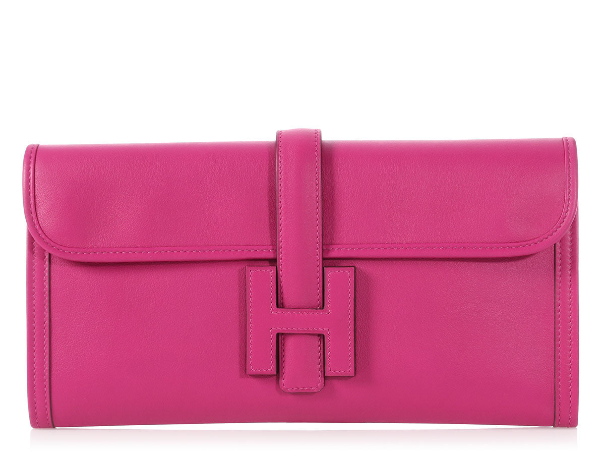 Hermès Rose Pourpre Swift Jigé 29
