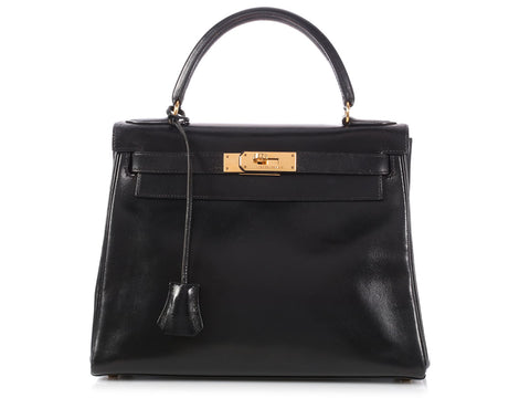 Hermès Black Box Kelly 28