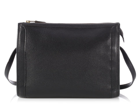 Hermès Black Gulliver Vintage Shoulder Bag