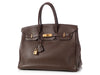 Hermès Brown Togo Birkin 35