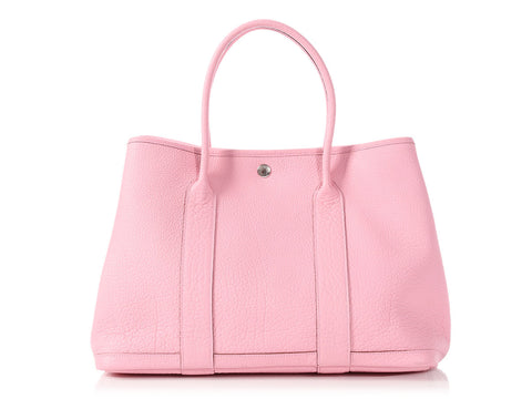 Hermès 5P Pink Negonda Garden Party 36