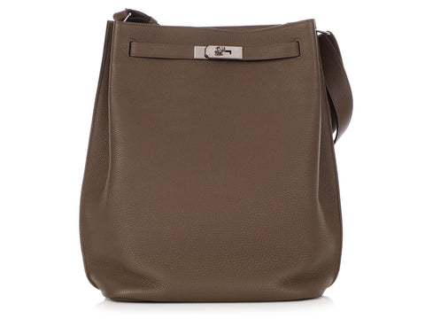 Hermès Taupe Togo So Kelly 26