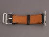 Hermès Black Box Leather Apple Watch Strap 38mm