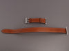 Hermès Fauve Barenia and Stainless Steel Double Tour Watch Strap 38mm