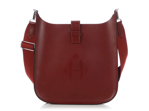Hermès Rouge H Vache Hunter Evelyne Sellier 29