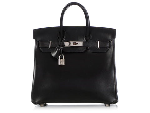 Hermès Black Box Leather Birkin HAC 28