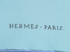 Hermès The Battery New York Silk Scarf 90cm