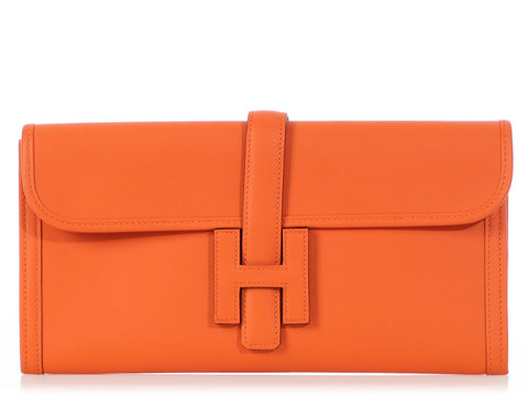 Hermès Orange Swift Jigé 29