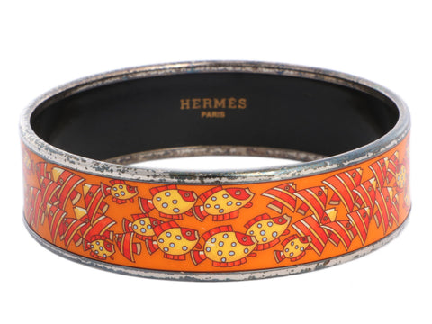 Hermès Wide Orange Rencontre Océane Bangle