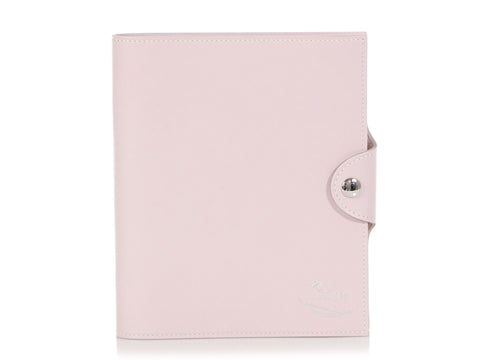 Hermès Rose Dragée Swift Ulysses Baby Agenda PM
