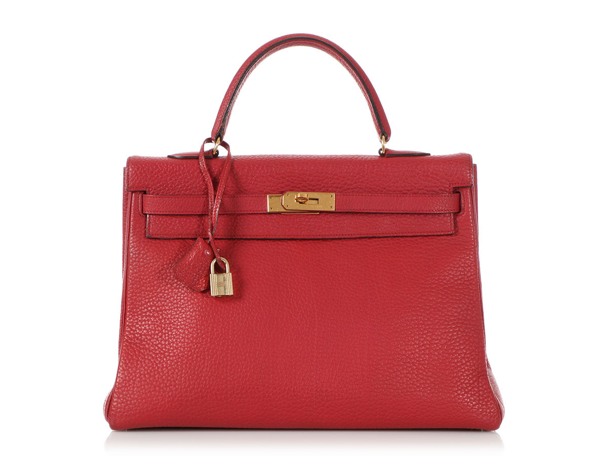 Hermès Rouge Vif Kelly 35