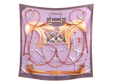 Hermès Project Carrès Silk Scarf 90cm