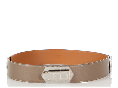 Hermès Etoupe Swift Belt